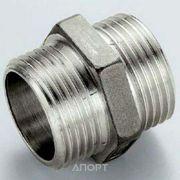 Фото Tiemme Ниппель латунный никелированный 1/2 РН (1500036)