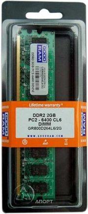 Фото GoodRam 2GB DDR2 800MHz (GR800D264L6/2G)