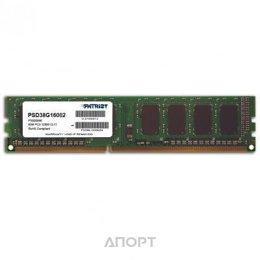 Patriot 8GB DDR3 1600MHz (PSD38G16002)