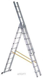 Фото ZARGES Трехсекционная многофункциональная лестница 3х9 (44839)