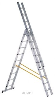 Фото ZARGES Трехсекционная многофункциональная лестница 3х11 (44841)