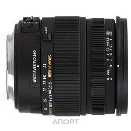 Sigma 17-70mm f/2.8-4 DC MACRO OS HSM Canon EF-S