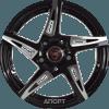 NZ Wheels SH-661 (R17 W7.0 PCD5x112 ET43 DIA57.1)