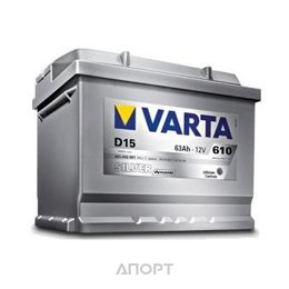 Varta 6СТ-63 SILVER dynamic (D39)