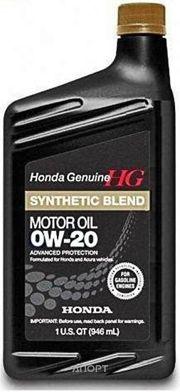 Фото HONDA Synthetic Blend 0W-20 0.946л (087989036)
