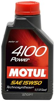 Фото Motul 4100 Power 15W-50 1л