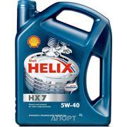Фото SHELL Helix HX7 5W-40 4л
