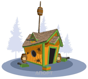 Фото Kids Crooked House Маленький Пиратский домик