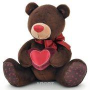 Фото Orange Медведь сидящий с сердечком Choco & Milk (C003/20)