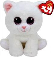 Фото TY Beanie Babies Белая кошка Pearl 25 см (90236)