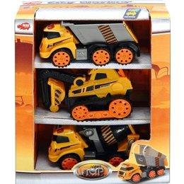 Dickie Toys Набор Строительная техника с подвижными деталями (3415183)