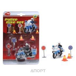 Dickie Toys Полицейский на мотоцикле (3315391)
