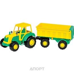 ПОЛЕСЬЕ Мастер трактор с прицепом №1 (35257)