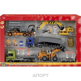Dickie Toys Набор строительной техники (3314557)