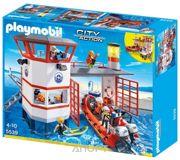 Фото PLAYMOBIL Береговая охрана с маяком (5539)