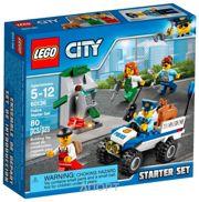 Фото LEGO City 60136 Набор для начинающих Полиция