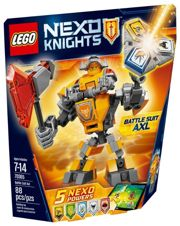 Фото LEGO Nexo Knights 70365 Боевые доспехи Акселя