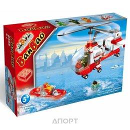 BanBao Пожарные 8305 Маленький спасательный вертолет