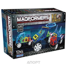 Magformers Hi-Tech R/C Custom Set 63091