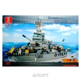SLUBAN Военно-морская серия M38-B0126 Navy Cruiser