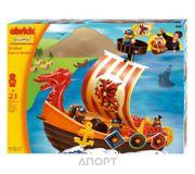 Фото Ecoiffier Abrick Themed sets 3169 Корабль викингов