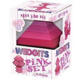 Wedgits 301517 Pink Set