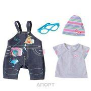 Фото Zapf Creation Baby born Одежда Джинсовая в ассортименте (822210)