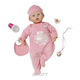 Zapf Creation Бэби Аннабель Кукла с мимикой, 46 см (794036)
