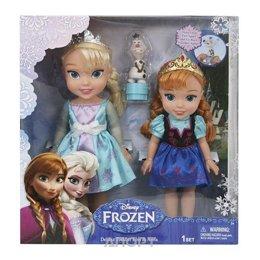 Disney Принцессы Дисней Игровой набор 2 куклы и Олаф Холодное Сердце (310170)