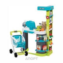 SMOBY Интерактивный супермаркет с тележкой (9350207)