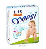 Фото Mepsi Soft&breathing L 9-16 кг (18 шт)