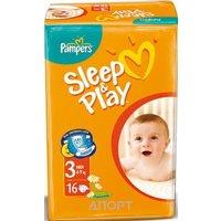 Фото Pampers Sleep&Play Midi 3 (16 шт.)