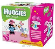 Фото Huggies Ultra Comfort для девочек 5 (105 шт.)