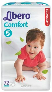 Фото Libero Comfort 5 10-16 кг (72 шт.)