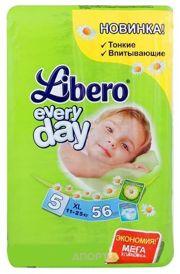 Фото Libero Everyday 5 11-25 кг (56 шт.)