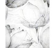 Фото Lasselsberger 1609-0019 Каррарский Мрамор цветы 45х45