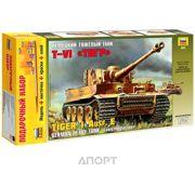 Фото ZVEZDA Немецкий тяжелый танк Тигр 1:35 (подарочный набор) (ZVE3646PN)