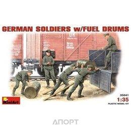 MiniArt Немецкие солдаты с топливными бочками (MA35041)