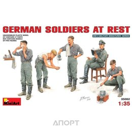 MiniArt Немецкие солдаты на отдыхе (MA35062)