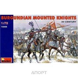 MiniArt Бургундские конные рыцари XV в. (MA72006)