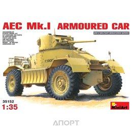 MiniArt Британский бронеавтомобиль AEC Mk.I (MA35152)
