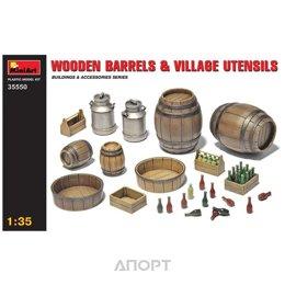 MiniArt Деревянные бочки и сельская утварь (MA35550)