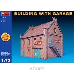 MiniArt Здание с гаражом (MA72031)