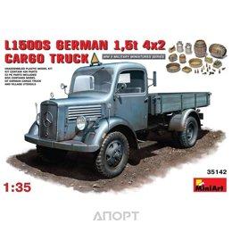 MiniArt Немецкий грузовой автомобиль L1500S / German cargo truck L1500S (MA35142)