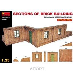 MiniArt Секции кирпичного здания (MA35552)