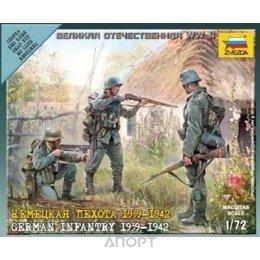 ZVEZDA Немецкая пехота, 1939-1942 (ZVE6105)