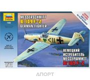 Фото ZVEZDA Немецкий истребитель Мессершмитт BF-109F-2. (ZVE7302)