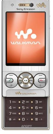 Фото Sony Ericsson W705i