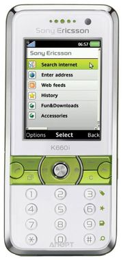 Фото Sony Ericsson K660i
