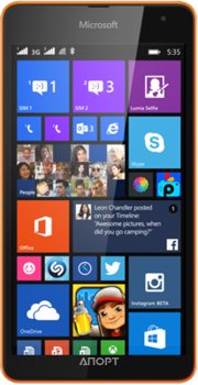 Фото Microsoft Lumia 535 Dual Sim